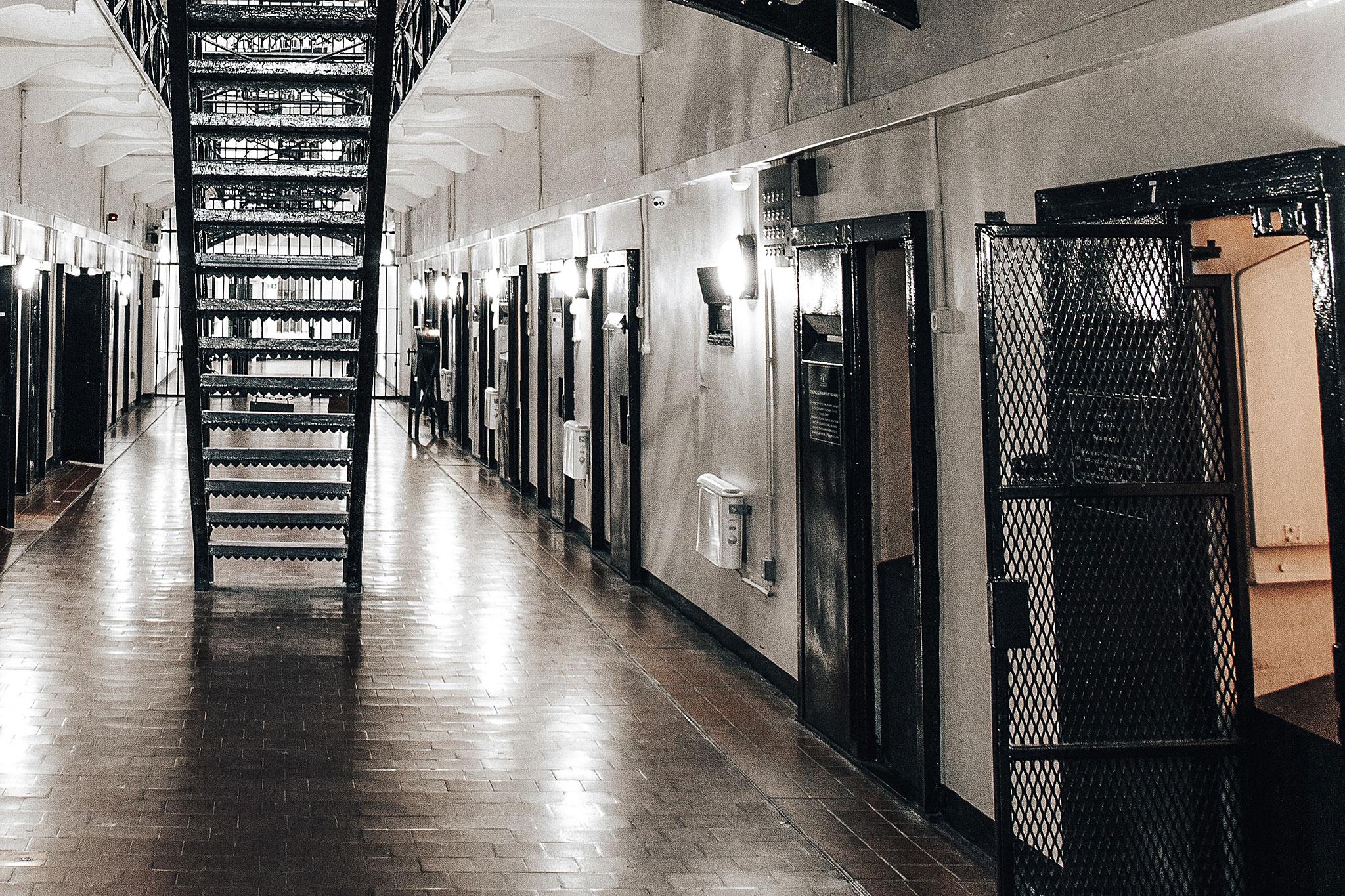 Gefängnisflur